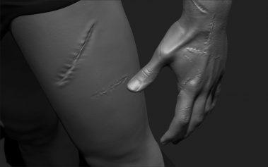 Long Slash Scar 1