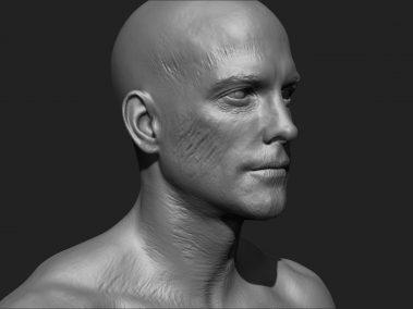 Zombie Skin Cheek 2