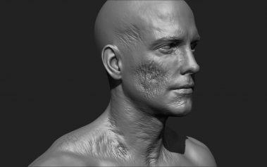 Zombie Skin Cheek 3