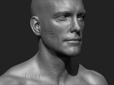 Zombie Skin Cheek 4